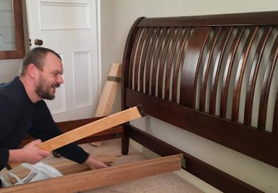 we dismantle furniture like beds