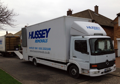 house removal lorry