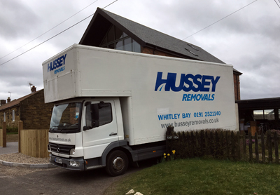 houser removal with luton removal truck